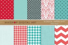 digital-paper-red-mint-01-f