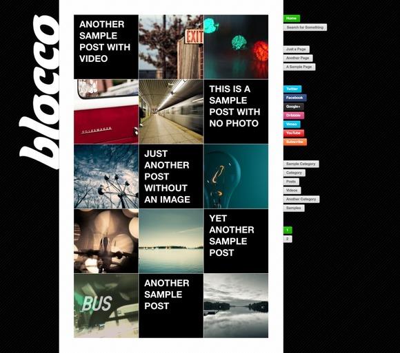 Blocco WordPress Theme by press75
