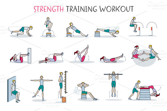 Strength Training Workout by Artica