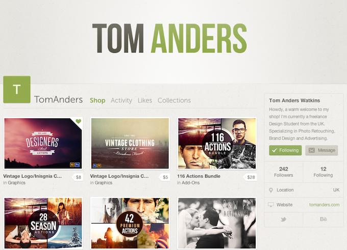 TomAnders CM Shop