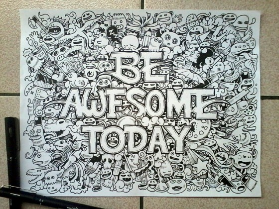 Awesome Doodle Ideas Images amp Pictures Becuo