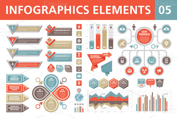 Infographics Elements 05 by serkorkin
