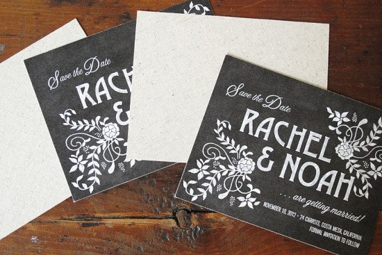 Design Your Perfect Wedding Invitations : Chalkboard ~ Creative
