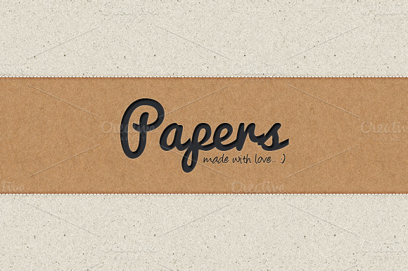 Papers Pack by YD-LABS