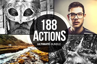 188 Actions Bundle by Tom Anders