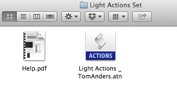 Action Folder