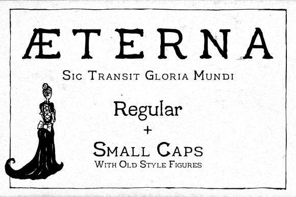 Aeterna Regular by dawnland