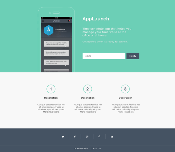 App Launch by launchpage
