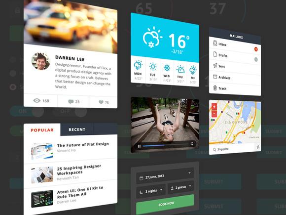 Atom UI by Fixx