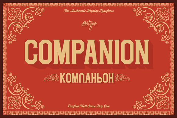Companion League by 100 Type