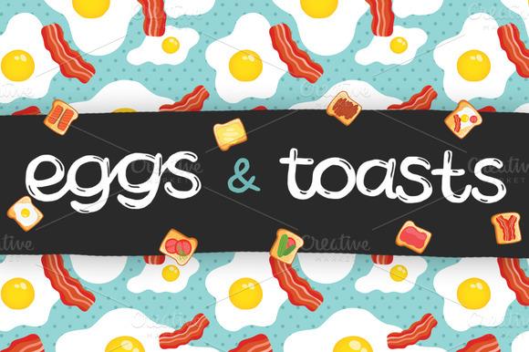 Eggs and toast by kostolom3ooo