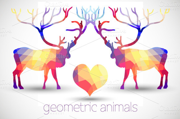Geometric Animals by Depiano
