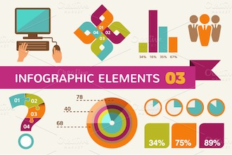 Infographic elements and icons 3 by Marish