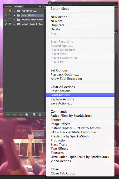 How to Install & Use Photoshop Actions ~ Creative Market Blog