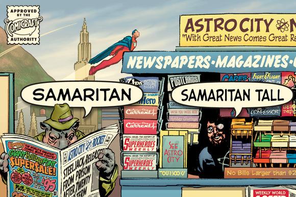 Samaritan Tall by Comicraft Fonts