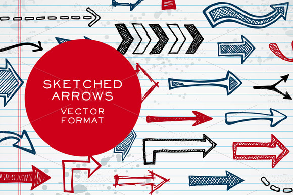 Sketched Arrows by Ember Stock