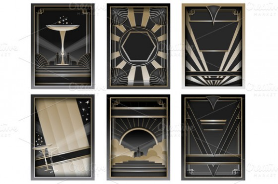 Design Your Perfect Wedding Invitations: Art Deco/Gatsby Style
