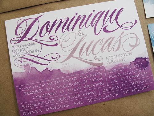 Perfect Wedding Invitations: Design Your Perfect Wedding Invitations: Watercolor