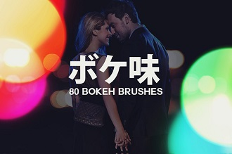 80 Large Bokeh Brushes