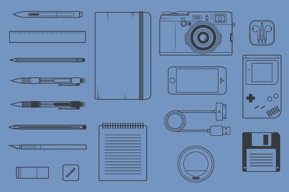 Creative Tools Shapes Vol. 1