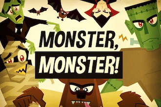 Monster Monster Vector Cartoons