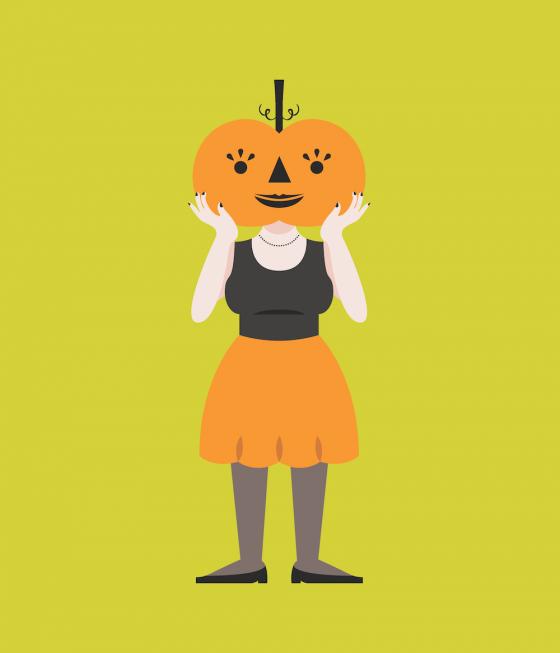 October23-Pumpkin Girl