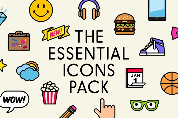The Essential Icons Pack