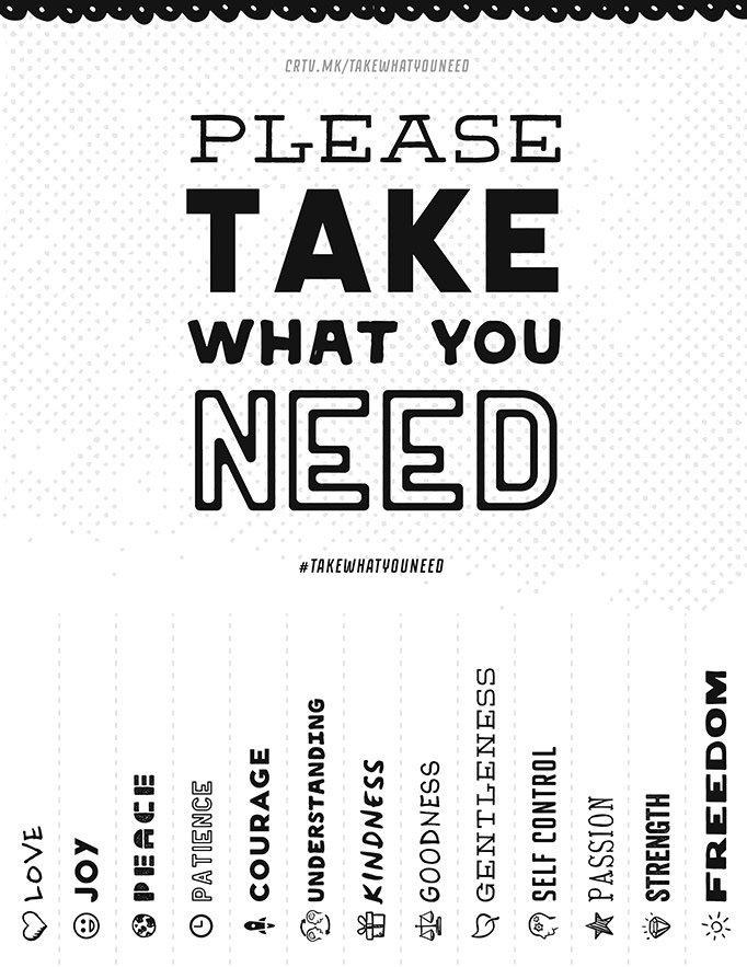take what you need template please take what you need creative market blog