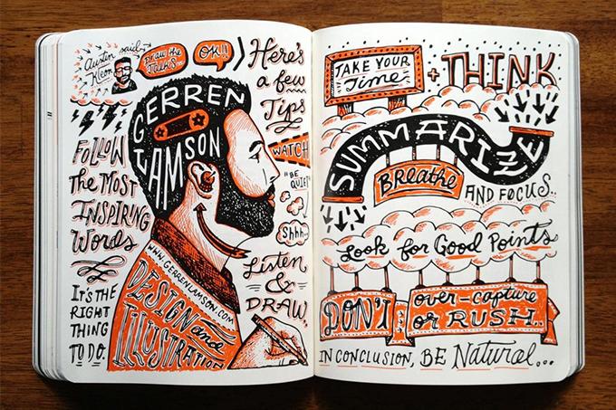 Gerren Lamson Sketchnote Sample