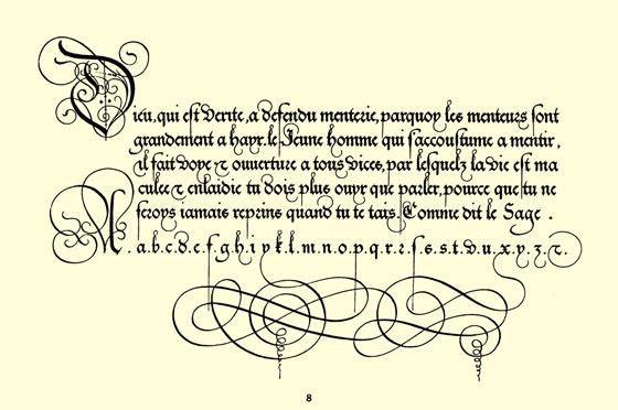 16th Century Penmanship