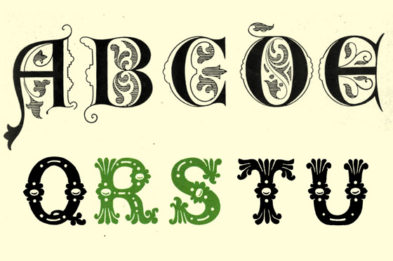 Inspiring Examples of Decorative Vintage Lettering ~ Creative ...
