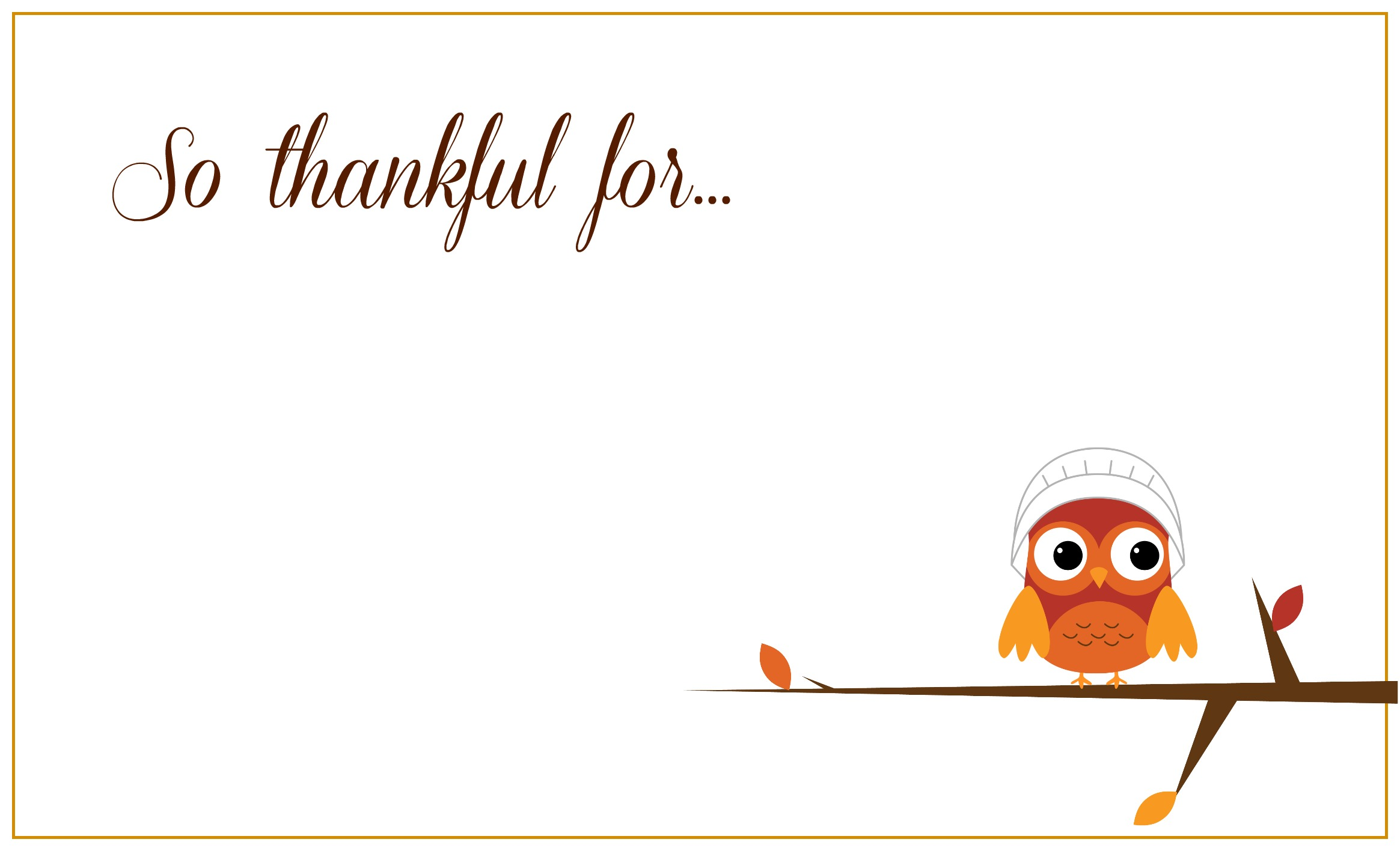 Exhilarating image with regard to thanksgiving place cards printable