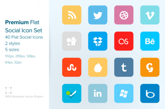 premium-flat-social-icon-set-(64px)-f
