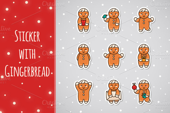 sticker-with-gingerbread-preview-f