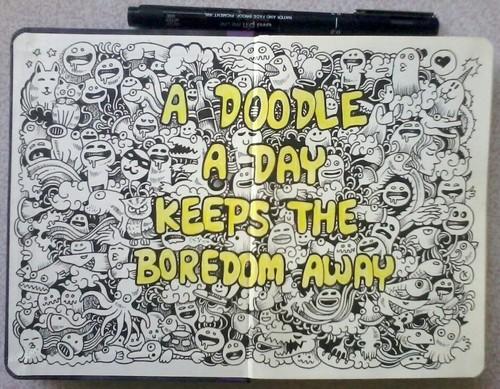 A doodle a day by kerbyrosanes d5n6pm7