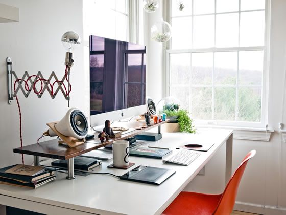 23 Inspiring Home Offices - 2014 Edition