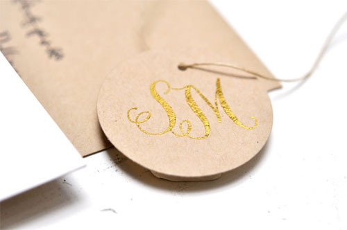 Smittenop Gold Foil Wedding Invitations5