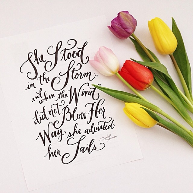 instagram calligraphy