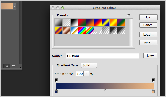 using gradient maps in Photoshop
