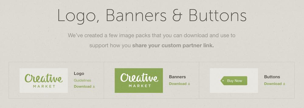 Creative Market Screen Shot