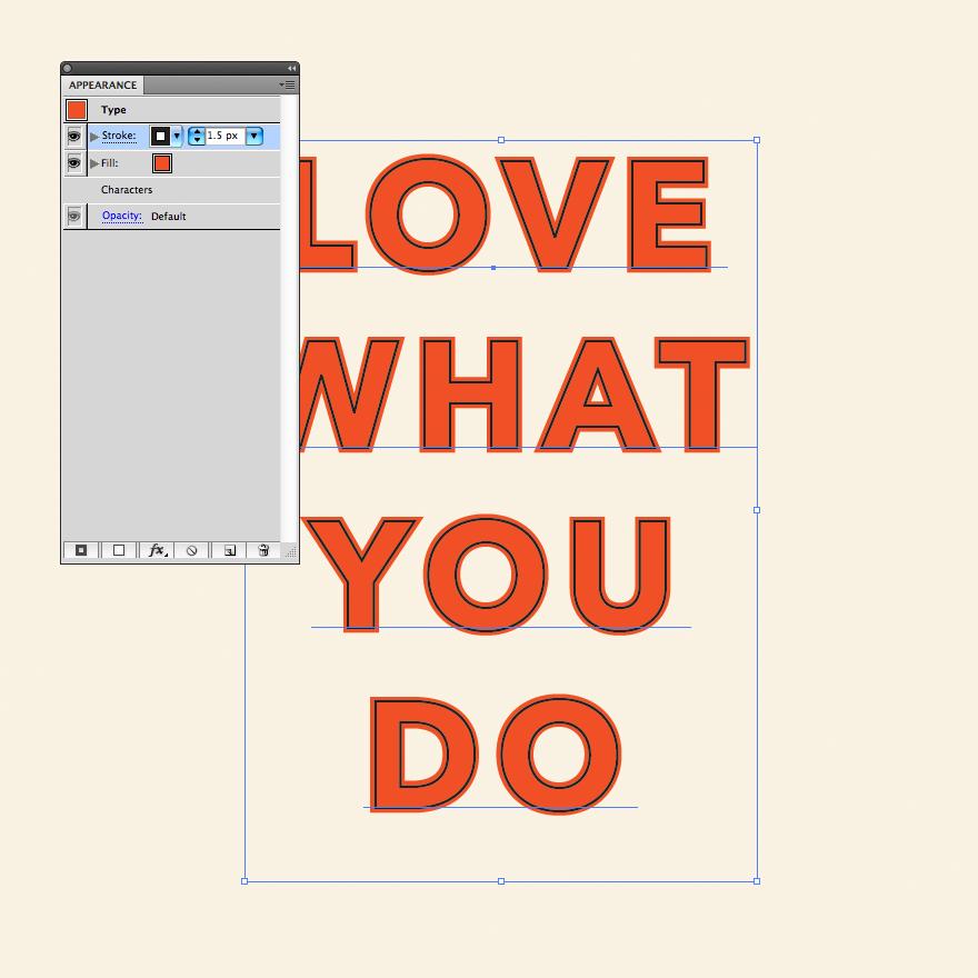 how to create stroke in illustrator
