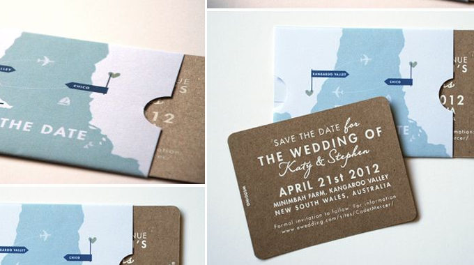 25 creative and unique save the date ideas creative market blog save the date pin it junglespirit Gallery