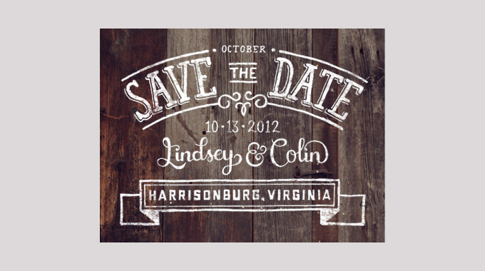 25 Creative and Unique Save the Date Ideas ~ Creative Market Blog