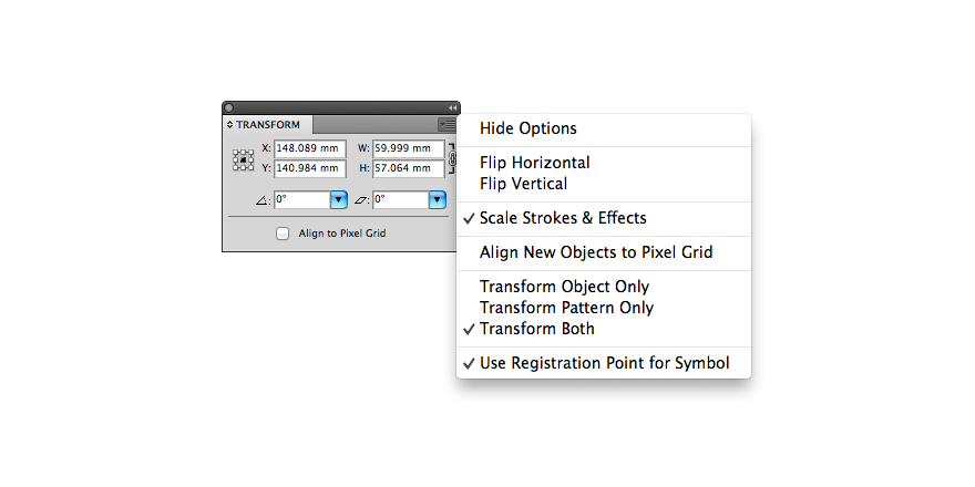 Scaling Patterns, Strokes, and Effects in Illustrator