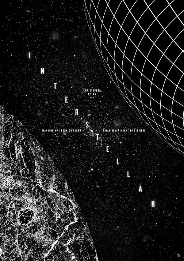 Interstellar Poster JB DESIGN STUDIO - WEB...