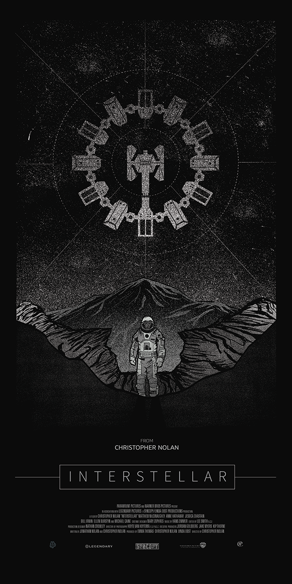 30 Out of This World Fan-Made Interstellar Posters ...  30 Out of This ...