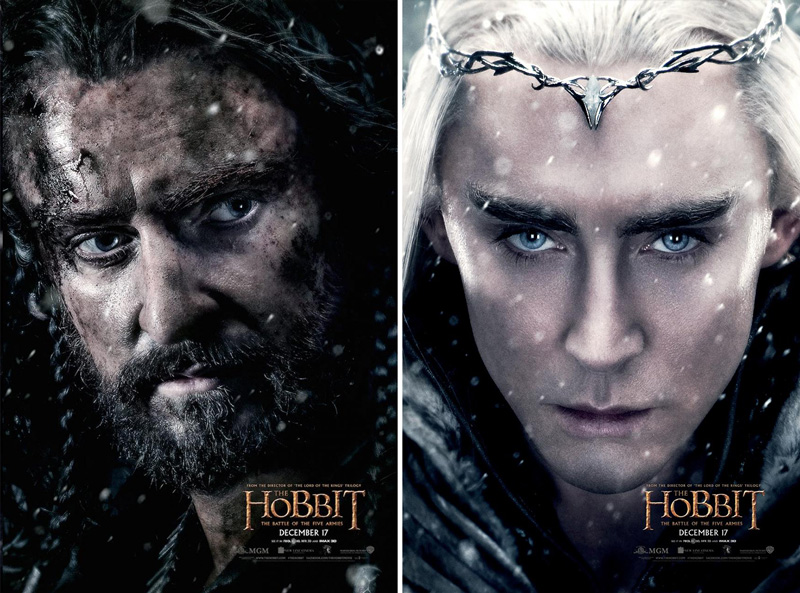 18 Stunning Movie Posters from The Hobbit: The Battle of the