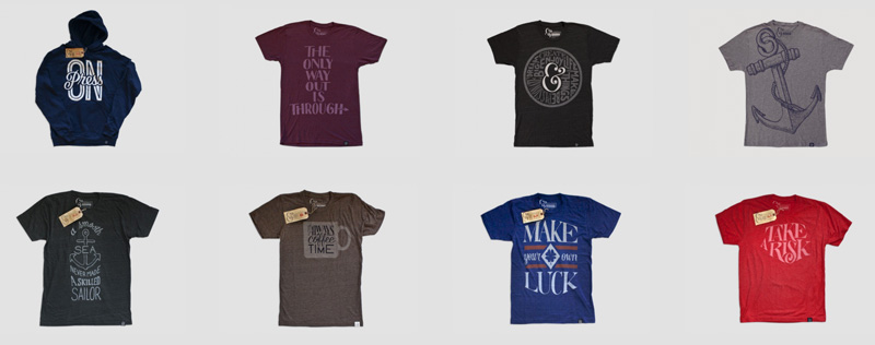 12 sites that sell cool t shirts for designers creative for Cheap t shirt design websites