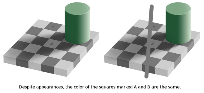 The dress color perception