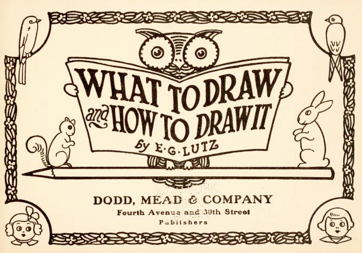 What to Draw & How to Draw It
